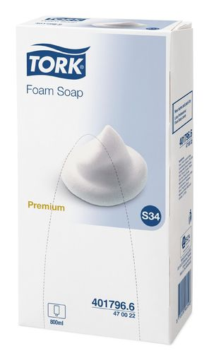 Tork Lotus Foam Soap, 800 ml, parfümiert 401796.6 / 470022