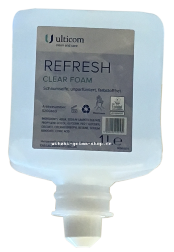 REFRESH CLEAR FOAM Schaumseife  1 Liter